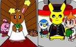 Buneary Pikachu Wedding