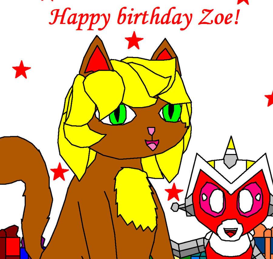 Happy Birthday Zoe By Gibina4ever On DeviantArt