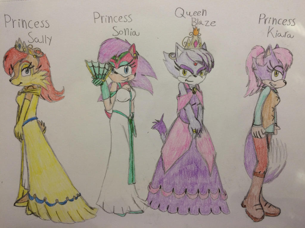 Royal girls by gibina4ever