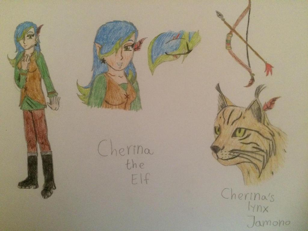Cherina the elf by gibina4ever