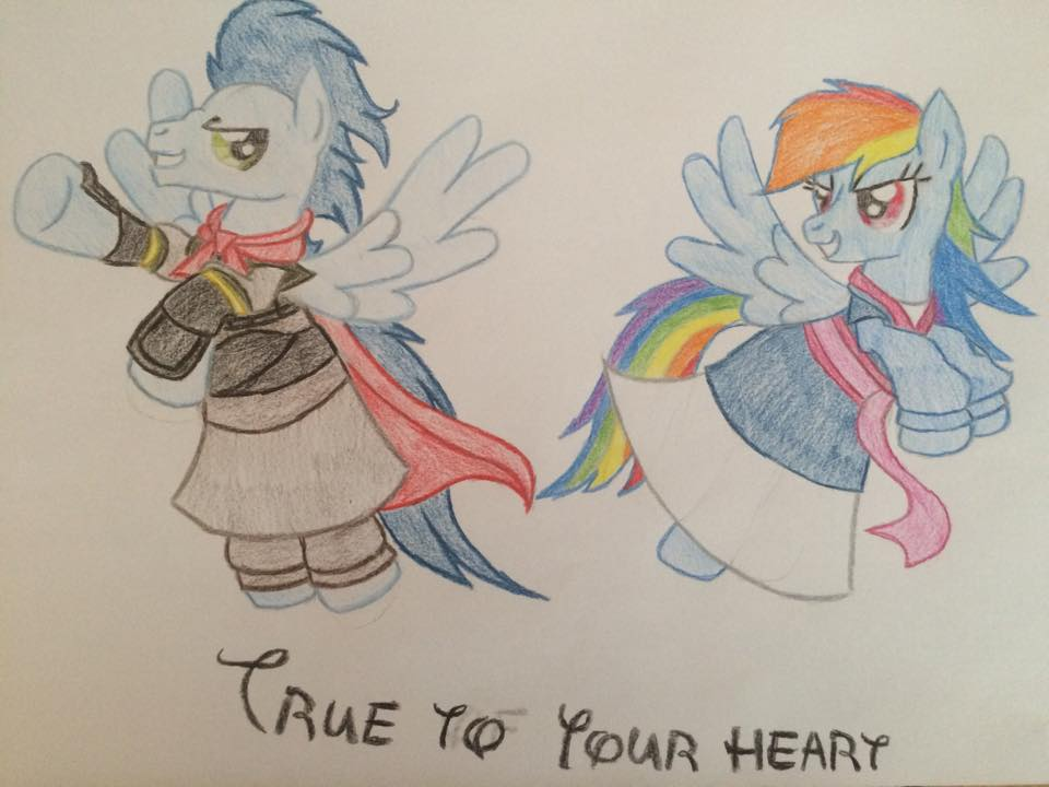 MLP Disney - True to your heart by gibina4ever