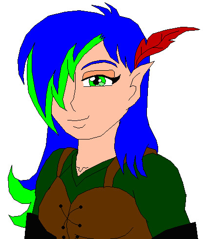 Elf Cherina by gibina4ever