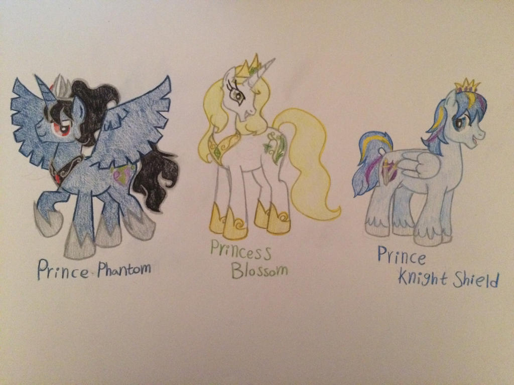 Mlp ~ next generation royals by gibina4ever