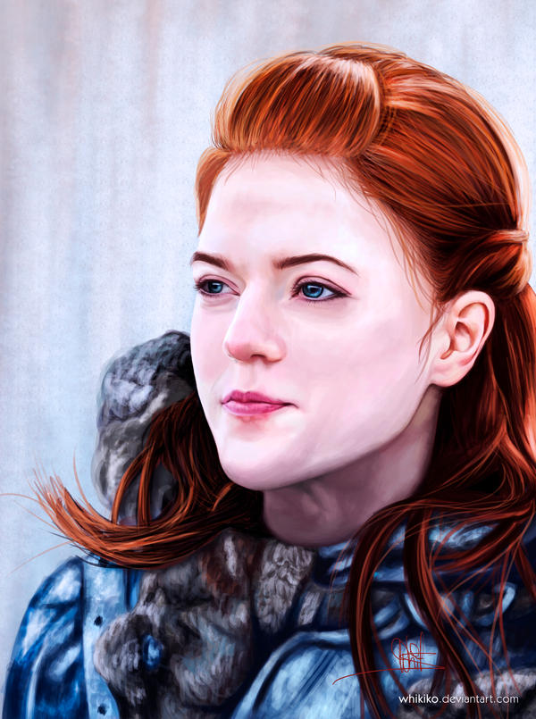 You know nothing, Jon Snow - Ygritte by whikiko
