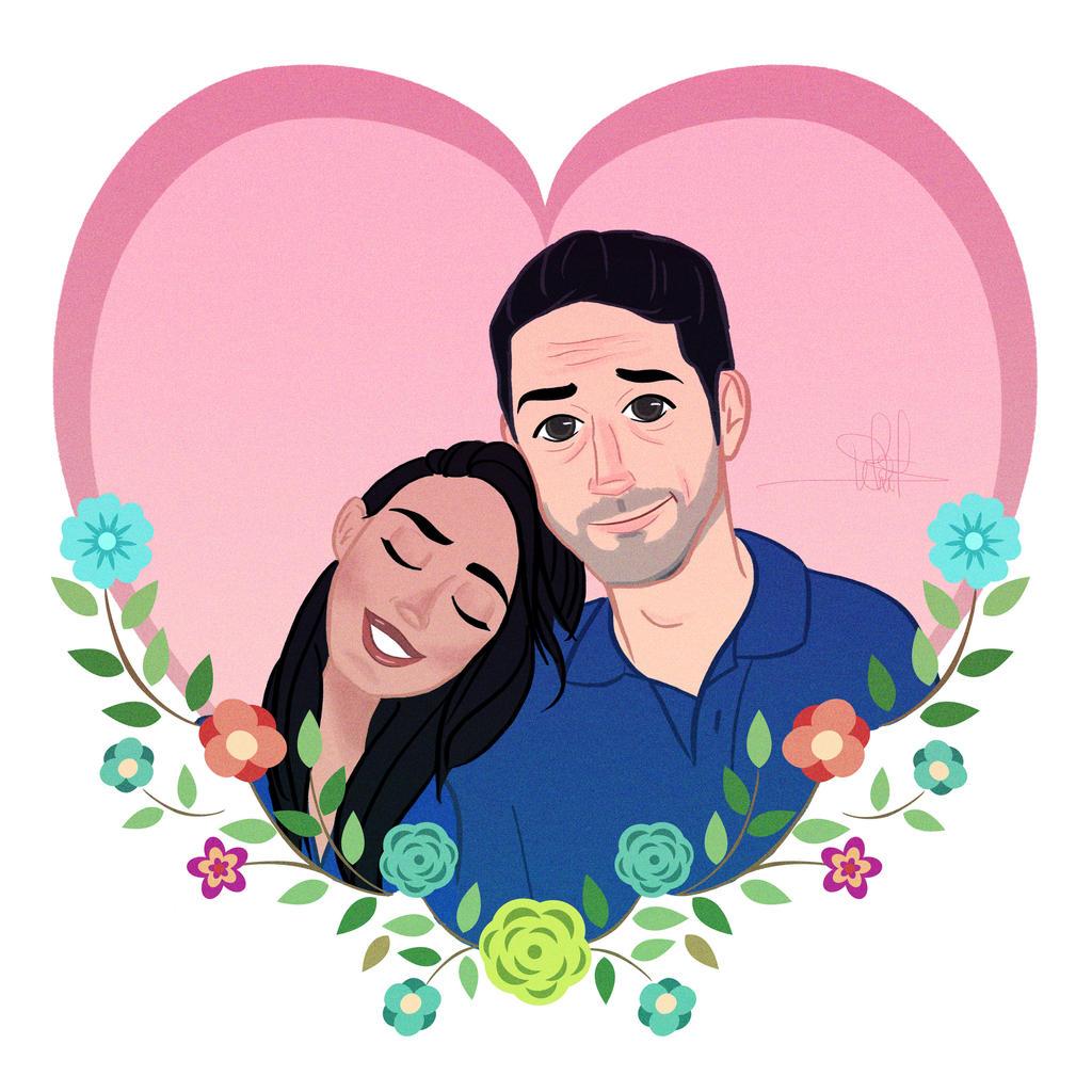 Valentine's Couple by whikiko