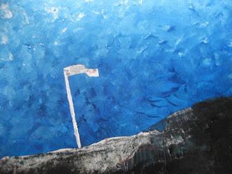 White flag by Ariad-Arts