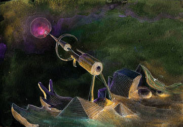Little Telescope by Ariad-Arts