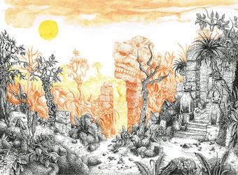 Ruins-pt by Ariad-Arts