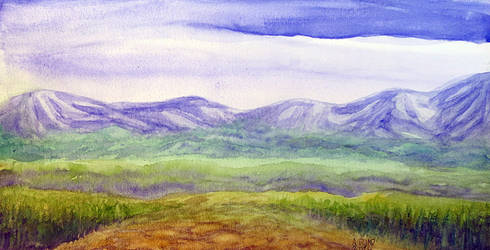 Simple landscape by Ariad-Arts