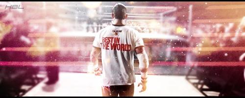 CM Punk - Best In The World Signature