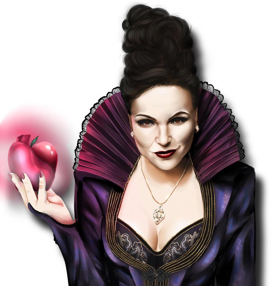 Evil Queen Regina By AnimeFreak-Denise