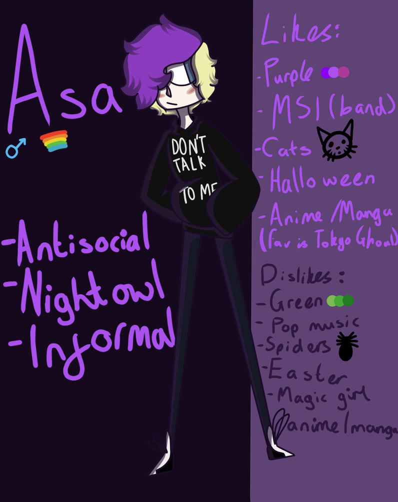 Asa (OC) by Isolated-Lion