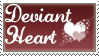 Deviant Heart Stamp by deviant-stamps