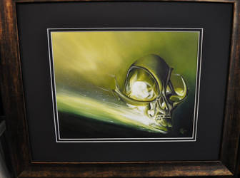 Alien skull by chadchase