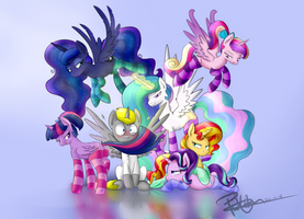 [Comm] All the mares by PucksterV