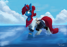 Big Waters - Commission by PucksterV