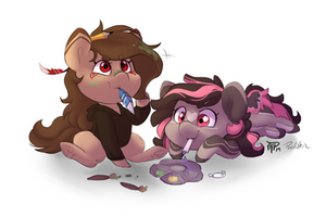 Charity Collab by PucksterV