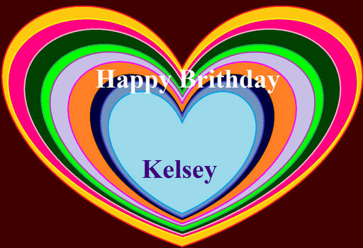 Brithday to Kelsey