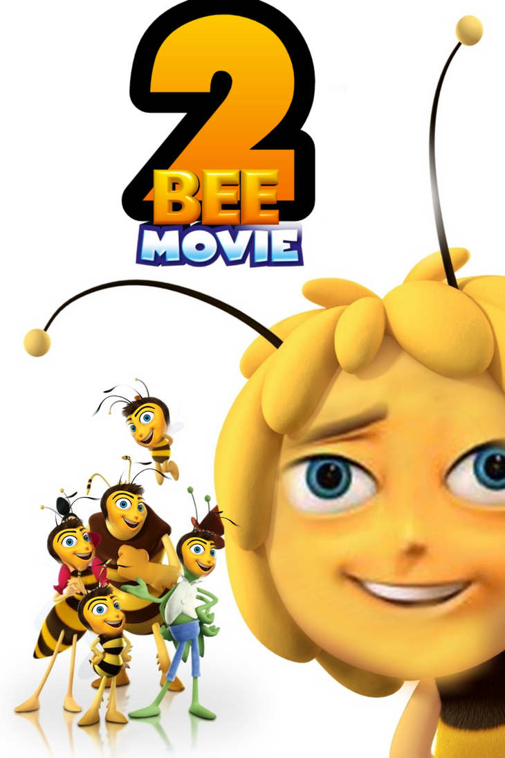 the offical cover of the bee movie 2 by dreemurredits87