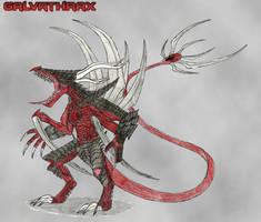 Galvathrax art by WoodZilla200