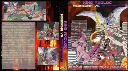 King Axoloc vs. Megasoma vs. Diayos DVD Poster by WoodZilla200