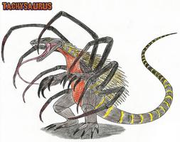 Tachysaurus by WoodZilla200