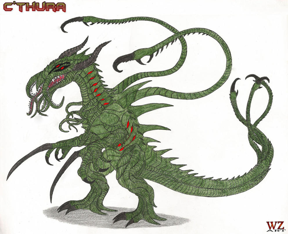 Cthura (Color Version) by WoodZilla200 on DeviantArt