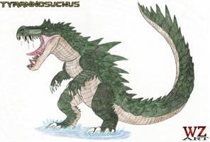 Tyrannosuchus by WoodZilla200