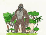 King Kong 2017 by WoodZilla200
