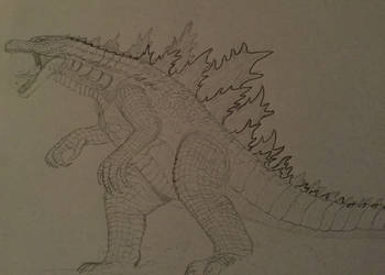 Rival of Alpha (sketch) 3 by WoodZilla200