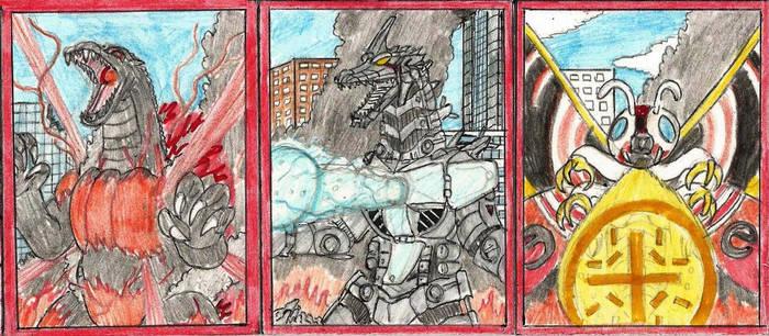 Godzilla Ultimate Cards