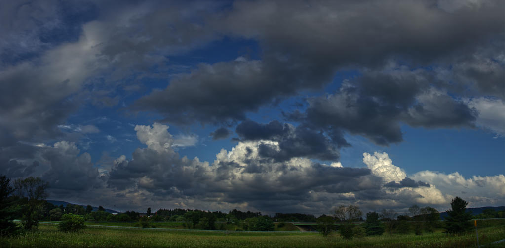 Chemung Panorama by FOTOSHOPIC