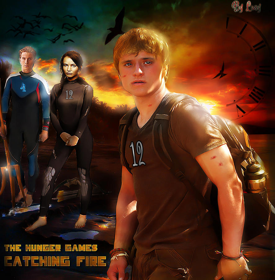 Hunger Games Catching Fire by Lusy-Lys