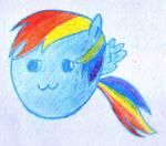Rainbow Dash Blob