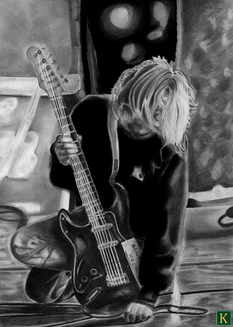 Kurt Cobain II by Terry-L-T-Kitto