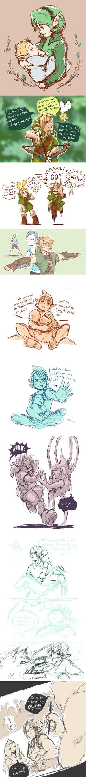 Zelda dump by bossbetch