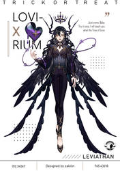 Lovirium Adopt GA Halloween Event | Leviathan:Envy