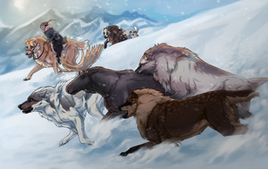 Merit: Snow Chase by Asherys