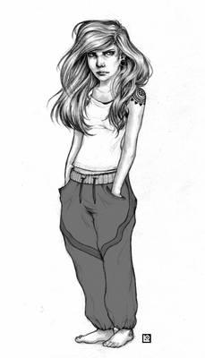 The little girl (June)