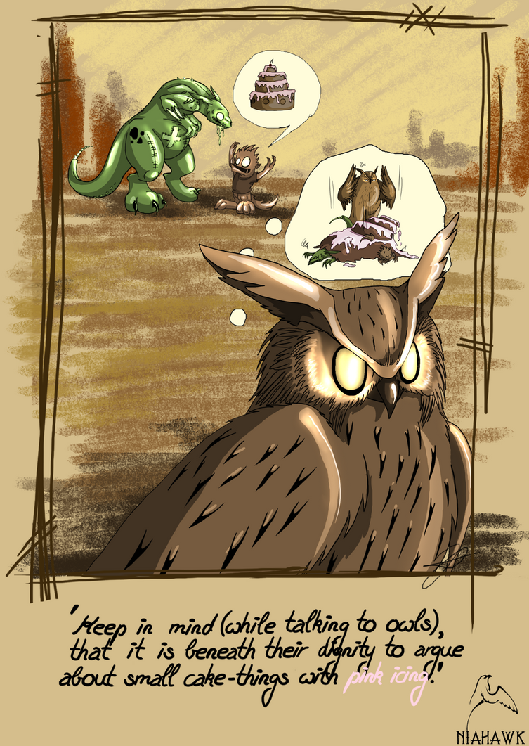 Chipsy+Mitch  - Owls... by Niahawk