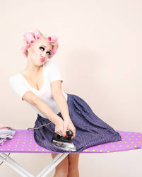 Ironing.. by DemiDiable