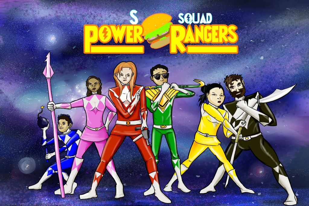 S Squad Rangers by horyokun