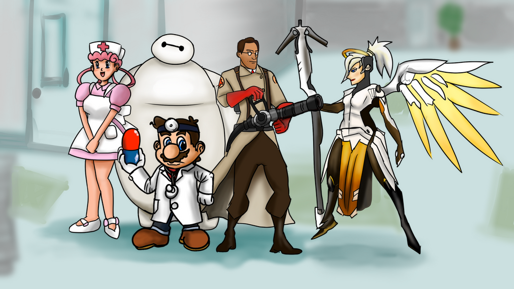 Videogame Doctors without Borders by horyokun