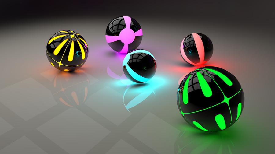 Tron Balls by MrDragoness