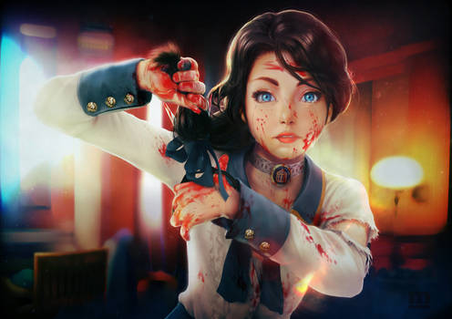 Bioshock Infinite : All i can see is blood !