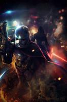 Star Wars VII the Force Awakens by makushiro