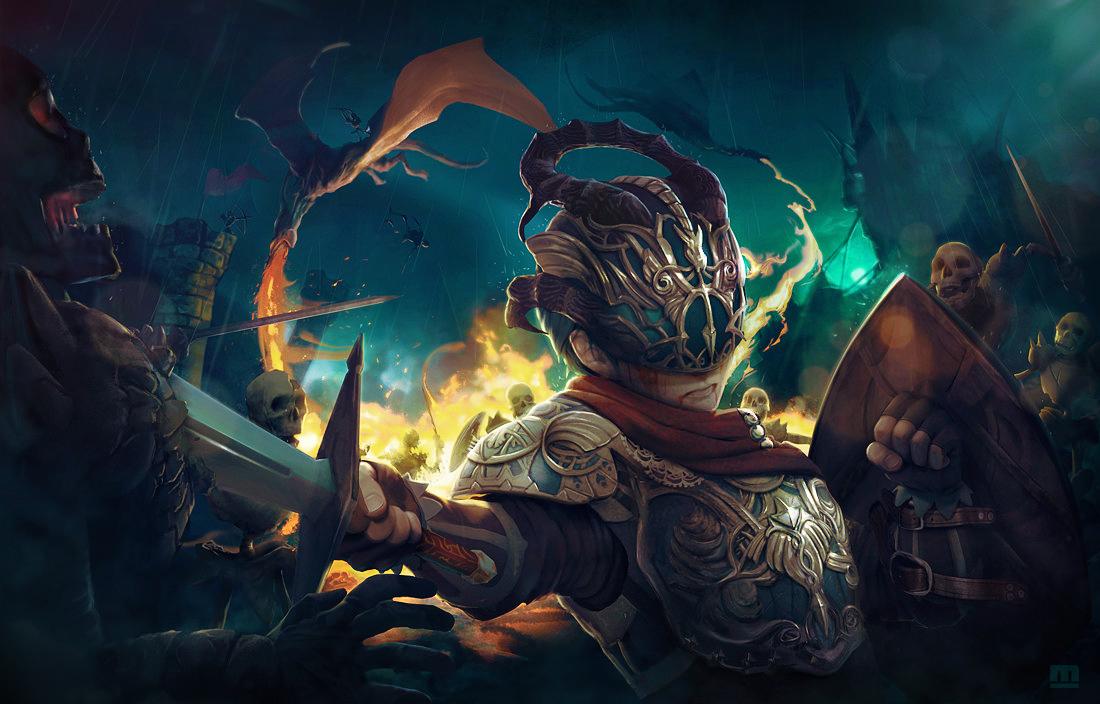 Dragon's knight by makushiro