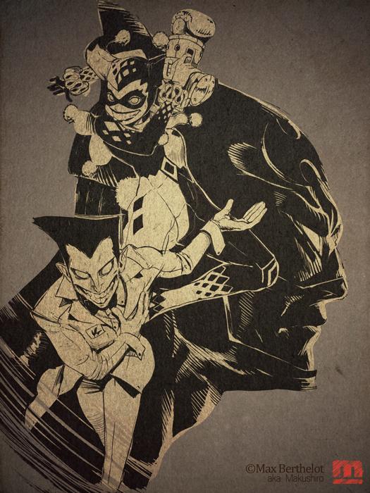 Batman by makushiro