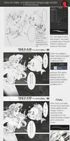 The Little Mermaid Manga tutorial