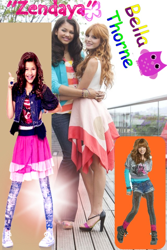 Bella Thorne and Zendaya Blend by AlyTomlinson19 on DeviantArt